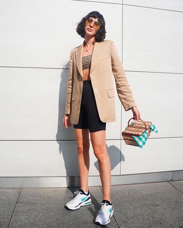 Angelica Bucci - blazer - blazer - verão - street-style