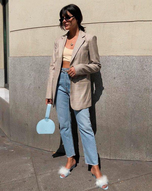 María Bernard - blazer - blazer - verão - street-style
