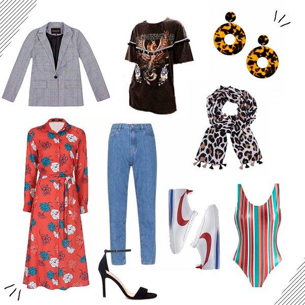 9 peças - 9 looks - catha - moda - tendencias