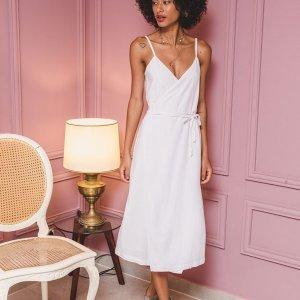 Vestido Wrap Branco Tamanho:p - Cor: Branco