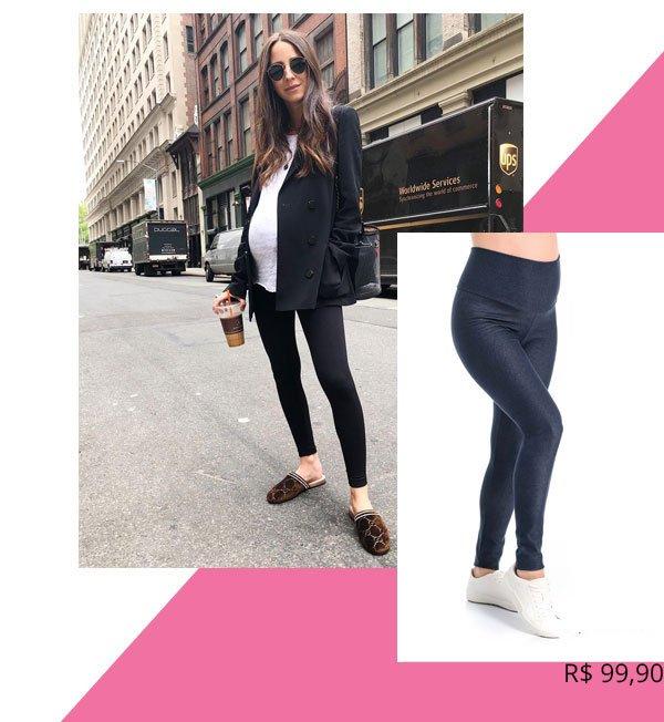 Arielle Noa Charnas - legging-preta - grávidas - verão - street-style