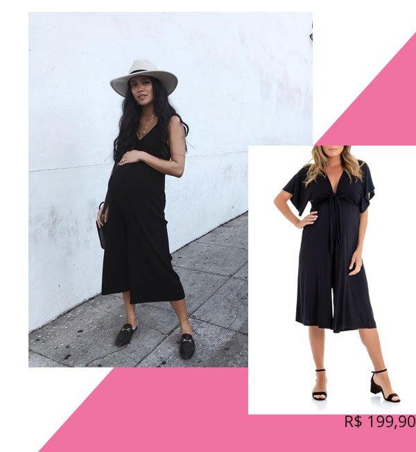 Carissa Alvarado - macacão] - grávidas - verão - street-style