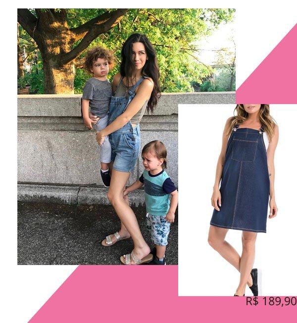 Bethany Ciotola - jardineira - grávidas - verão - street-style