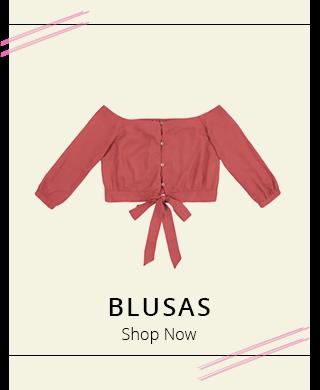 Blusas - Shop Now