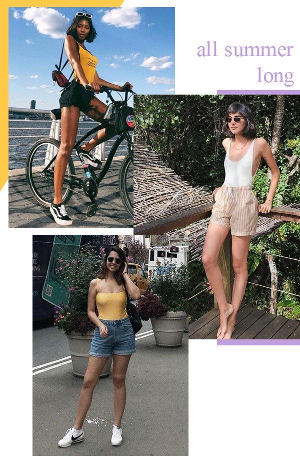 Tatiana Elizabeth Price, Angelica Bucci e Samara Tavares - body - body - verão - street-style