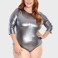 Body Metallic Plus Size