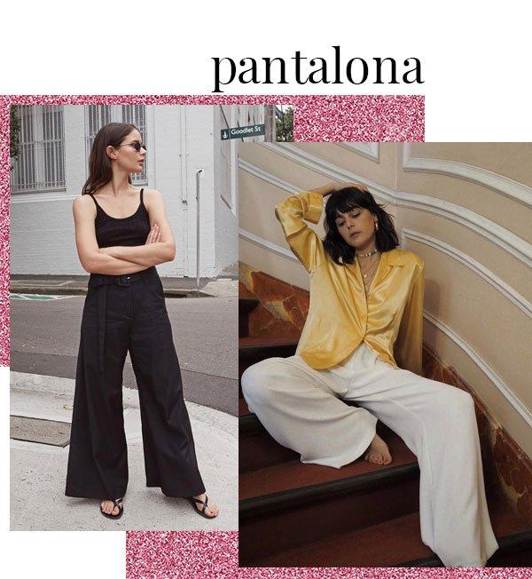Sara Donaldson, María Bernard - pantalona - pantalona - verão - street-style