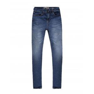 Calças Jeans Feminina Cintura Alta