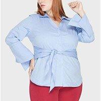 Camisa Tricoline Nylon Plus Size