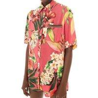 Camisa Abacaxis De Flor Uni