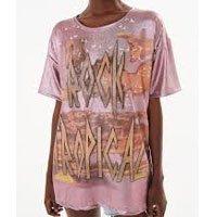 T-Shirt Lurex Rock Tropical