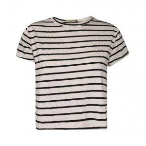 Camiseta Feminina Cropped Listras