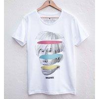 Camiseta Warhol Tamanho: Xgg - Cor: Branco
