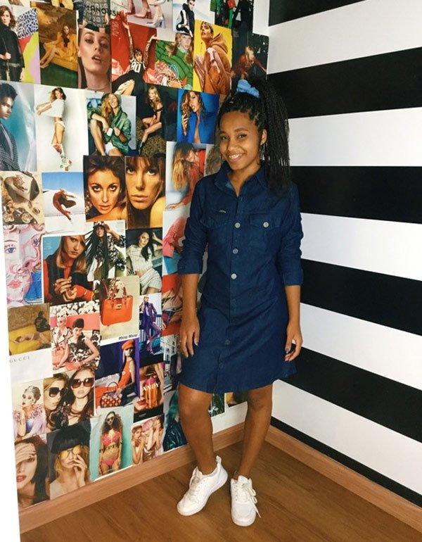 Claudiana Ribeiro - vestido-jeans - vestido-jeans - outono - street style 2019