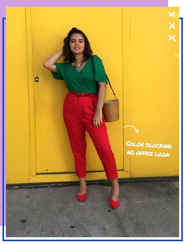 flavia gomes - look - trabalho - amaro - office look