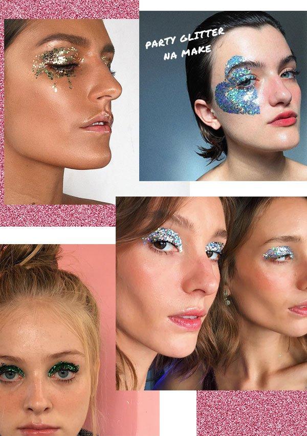 it-girl - make - glitter - verão - street-style