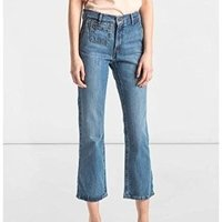 Calça Jeans Levis Feminina Flare Orange Tab Vintage Azul Claro