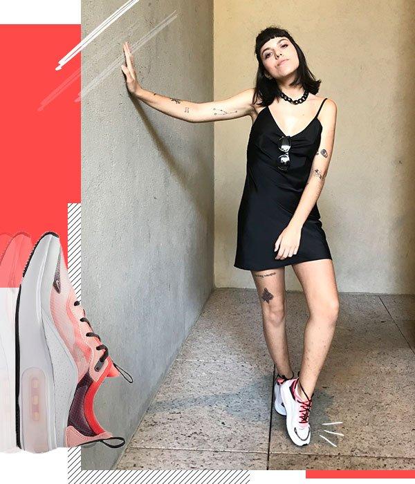 Julia Abud - slipdress-air-max-dia - air max dia - verão - street style 2019