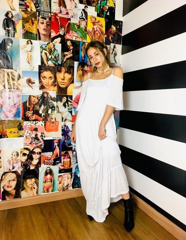 Larissa Cobra - vestido-branco - vestido - outono - street style 2019