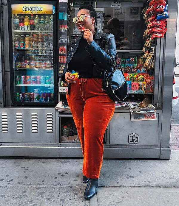 calca - ponto - cor - look - moda