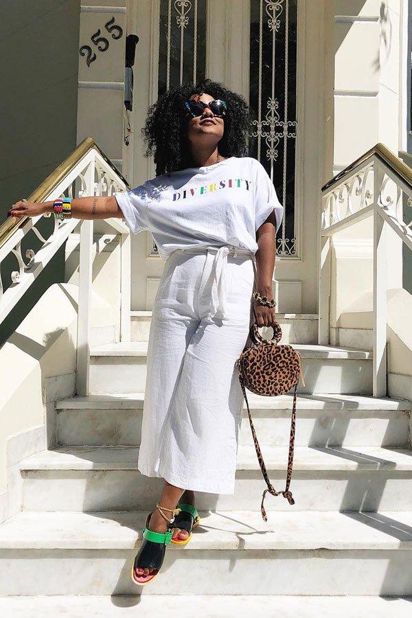 Luiza Brasil - T-shirt - T-shirt - verão - street style