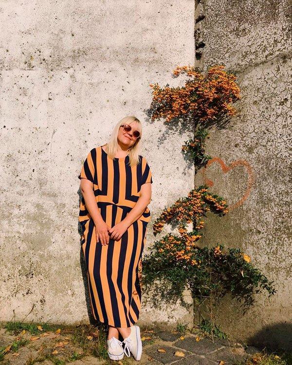 Melanie Michelberger - macacão-tênis - tênis - verão - street style 2019