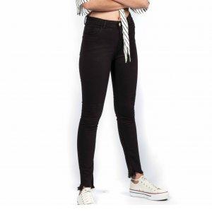 Calça Jeans Black Tamanho:p - Cor: Preto