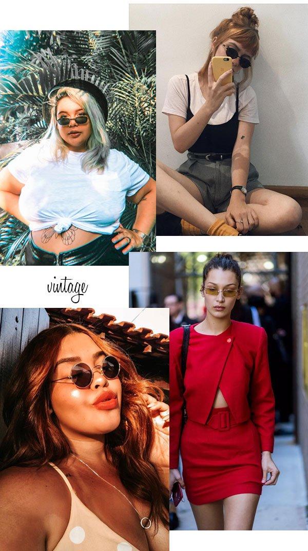 it-girls - óculos de sol - óculos vintage - verão - street style 2019