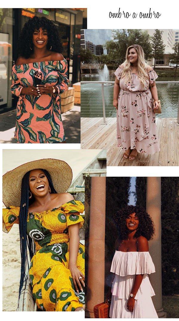 it-girls - vestido - ombro a ombro - verão - street style 2019