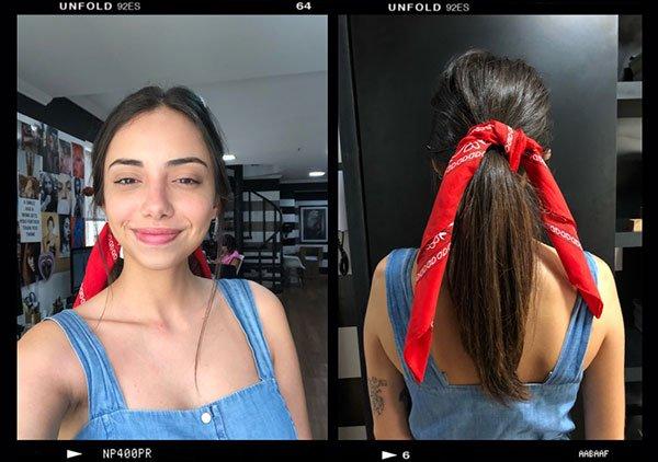 Giovana Marçon - cabelo - cabelos - verão - street-style