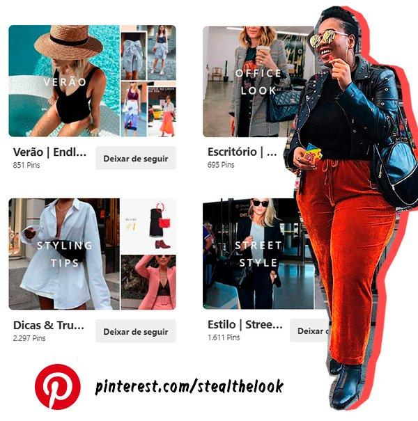mulheres - estilosas - pinterest - pastas - looks