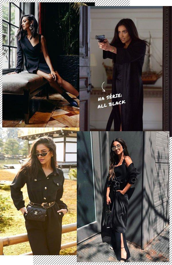 Shay Mitchell - all-black - all-black - verão - street-style