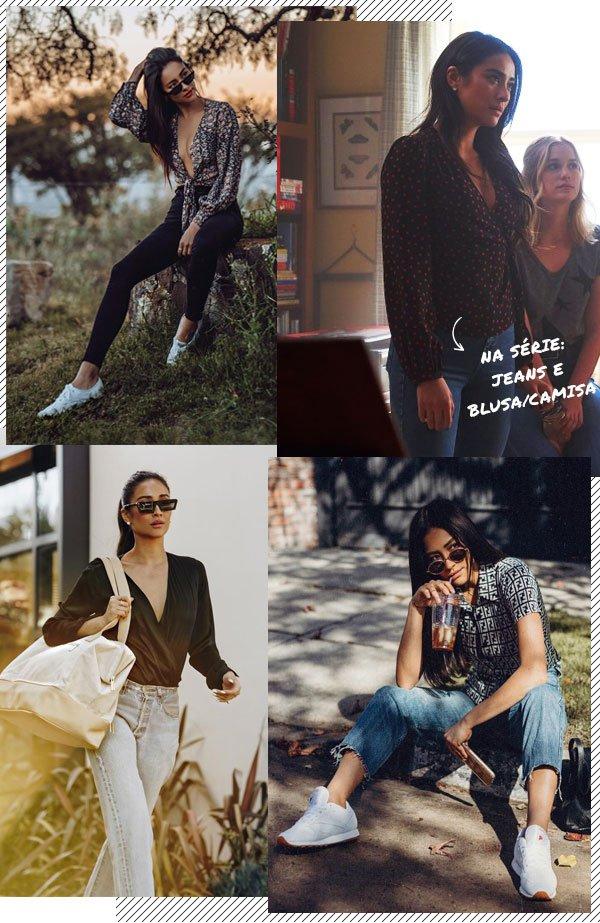 Shay Mitchell - jeans - jeans - verão - street-style