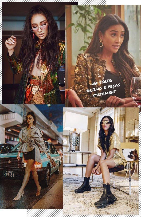 Shay Mitchell - brilho - brilho - verão - street-style