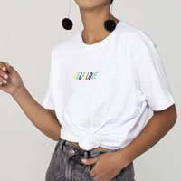 Camiseta Self Love Tamanho: G - Cor: Branco