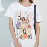 Camiseta Spice Tamanho: G - Cor: Branco
