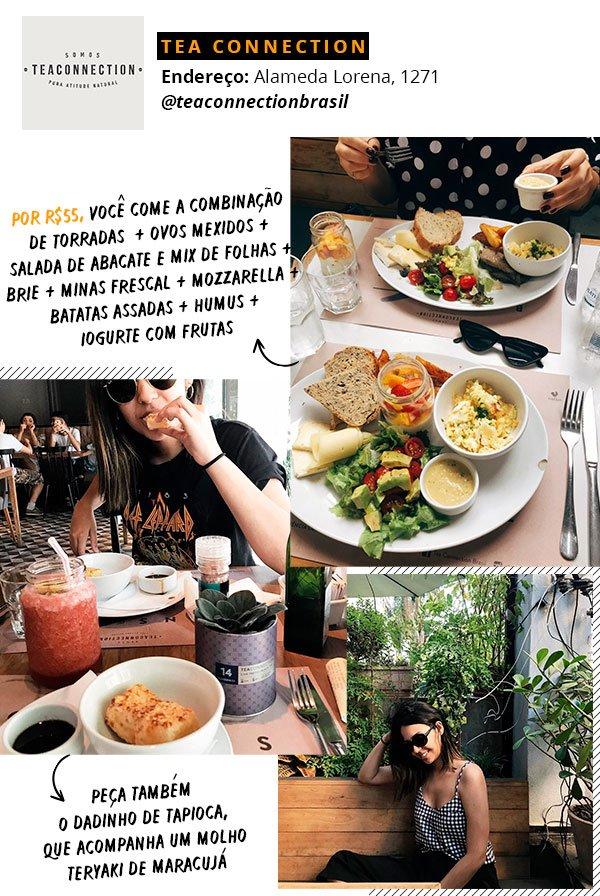 tea connection - brunch - sao paulo - guia - comida