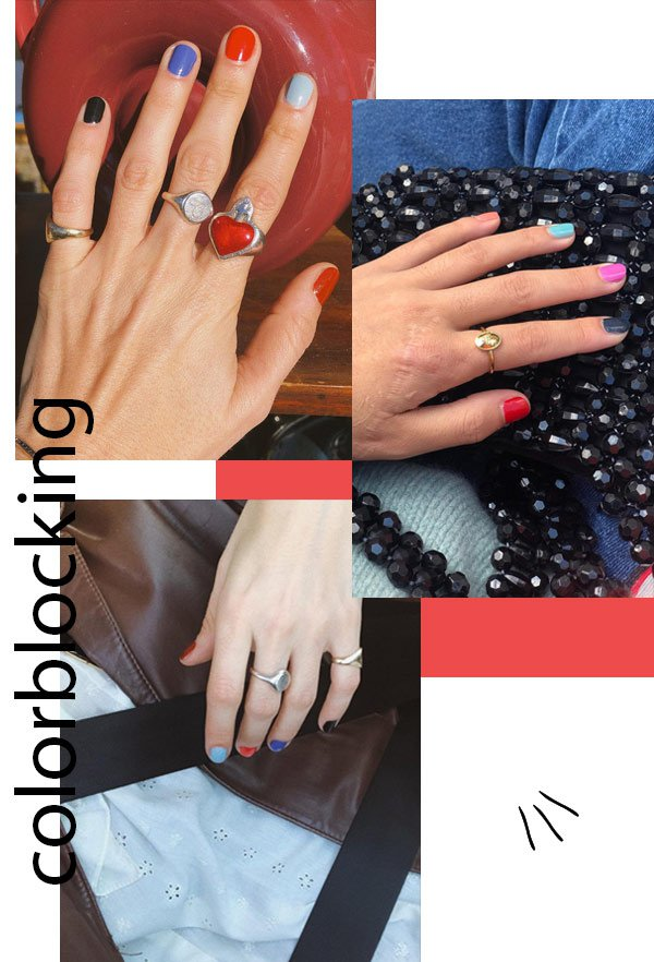 it-girls - colorblocking - unhas - verão - street style 2019