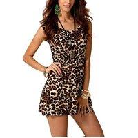 Vestido Criativa Urbana Leopardo Oncinha Animal Print