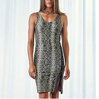 Vestido Feminino Python