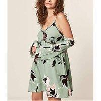 Vestido Estampa Floral Bold