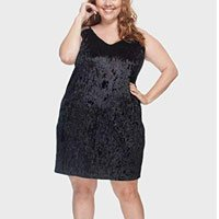 Vestido Textura Plus Size