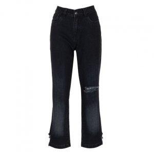 Calça Jeans Reta Degradê