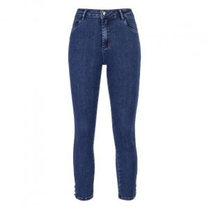 Calça Jeans Skinny Azelhas
