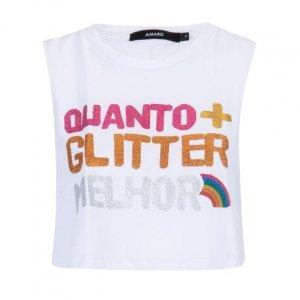 Cropped Quanto + Glitter Melhor