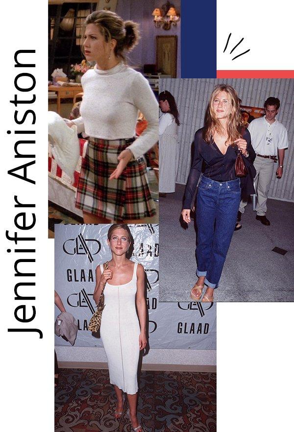 Jennifer Aniston - anos 90 - anos 90 - inverno - celebs
