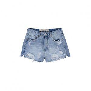 Shorts Jeans Feminino Modelagem Hot Pants
