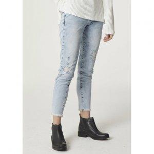 Calça Jeans Skinny Feminina Com Detalhe De Botões
