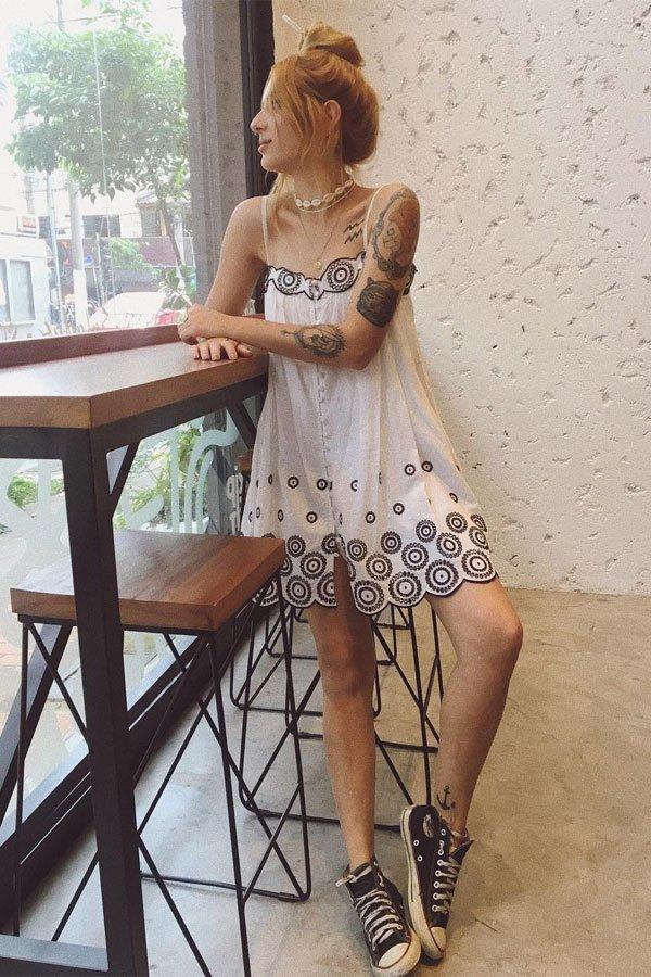Ali Santos - vestido - boho - verão - street style