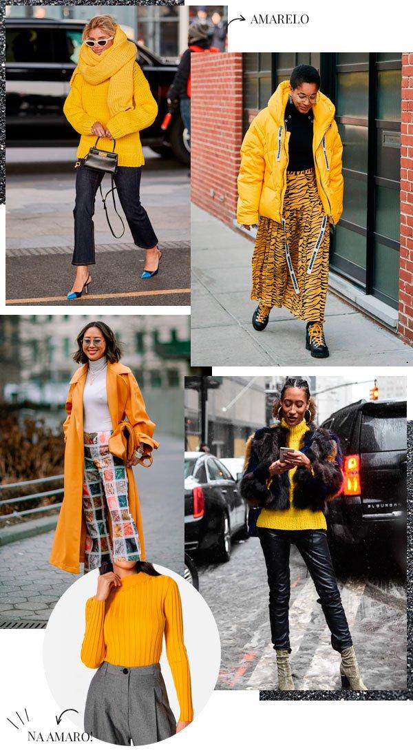 it-girl - amarelo - amarelo - inverno - street-style